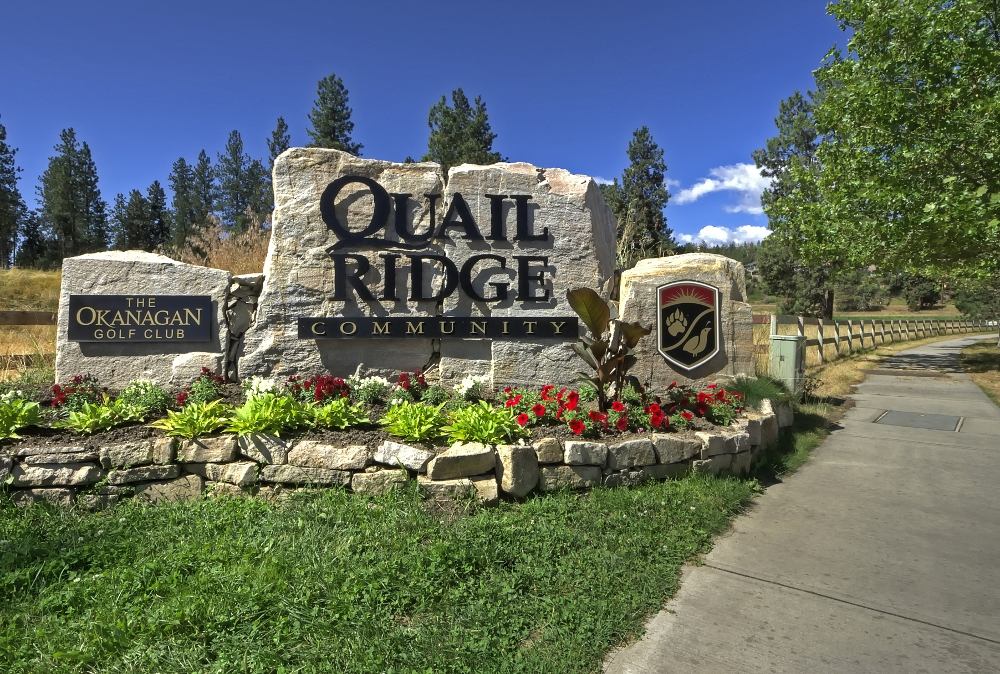 Welcome to Quail Ridge Kelowna